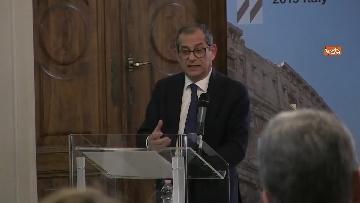 8 - La presentazione del rapporto Ocse sull'andamento dell'economia in Italia