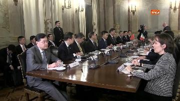 5 - Xi Jinping incontra la Casellati al Senato