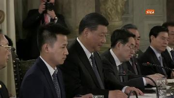 6 - Xi Jinping incontra la Casellati al Senato