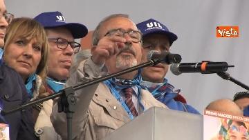13 - Camusso, Furlan, Barbagallo alla manifestazione del primo maggio a Prato. Presente Martina
