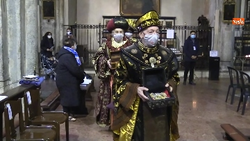 3 - Corteo dei magi a Milano, nella basilica di sant'Eustorgio la celebrazione in forma ridotta