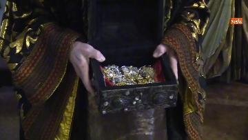 2 - Corteo dei magi a Milano, nella basilica di sant'Eustorgio la celebrazione in forma ridotta
