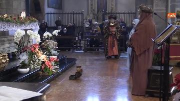 5 - Corteo dei magi a Milano, nella basilica di sant'Eustorgio la celebrazione in forma ridotta