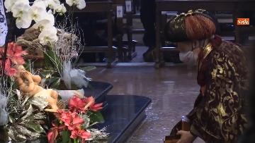 4 - Corteo dei magi a Milano, nella basilica di sant'Eustorgio la celebrazione in forma ridotta