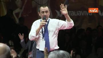 5 - Renzi chiude l'assemblea di Italia Viva