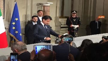 10 - Giuseppe Conte presenta la lista dei Ministri