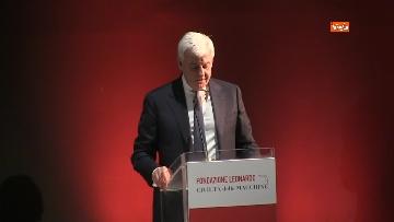 3 - Conte all'inaugurazione della fondazione Leonardo