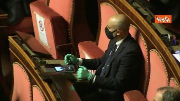 17 - Conte al Senato per l'informativa sull'emergenza Coronavirus