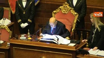 1 - Napolitano apre la prima seduta del Senato