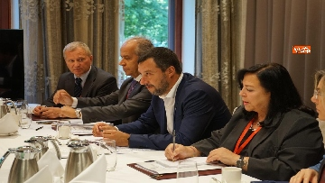 1 - Salvini a Helsinki, via il bilaterale con l'omologo maltese Michael Faruggia