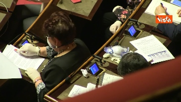 18 - Conte al Senato per l'informativa sull'emergenza Coronavirus