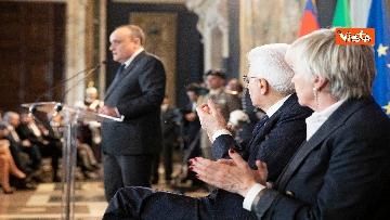 1 - La cerimonia di presentazione dei candidati al David di Donatello al Quirinale