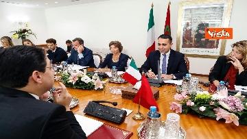 1 - Di Maio a Rabat incontra il ministero degli Esteri del Marocco Bourita