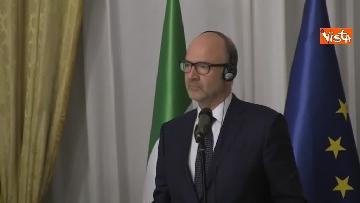 2 - Tria e Moscovici in conferenza al Mef