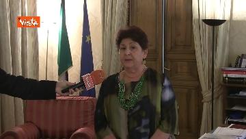 1 - L'intervista del Ministro dell'Agricoltura Teresa Bellanova all'Agenzia Vista