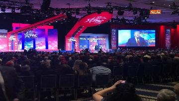 9 - Trump all'assemblea Cpac 2019