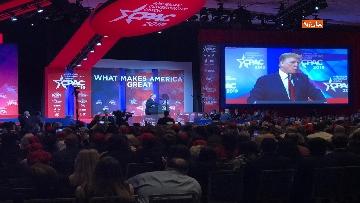 10 - Trump all'assemblea Cpac 2019