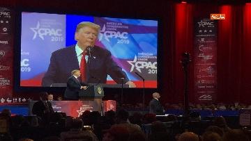 13 - Trump all'assemblea Cpac 2019