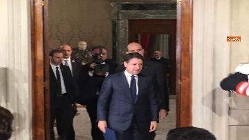 2 - Giuseppe Conte presenta la lista dei Ministri