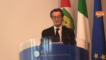 6 - Mattarella alla cerimonia dei 25 anni dell'Istituto di Oncologia dello IEO