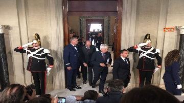 2 - Mattarella conferisce a Giuseppe Conte l'incarico di formare il Governo