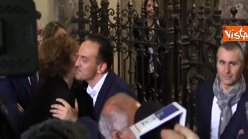 5 - L'arrivo al Palazzo della Regione di Alberto Cirio