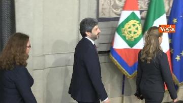 3 - Fico e Casellati al Quirinale per le Consultazioni con il Presidente della Repubblica Mattarella