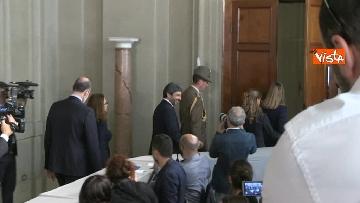 4 - Fico e Casellati al Quirinale per le Consultazioni con il Presidente della Repubblica Mattarella