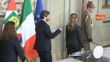 2 - Fico e Casellati al Quirinale per le Consultazioni con il Presidente della Repubblica Mattarella