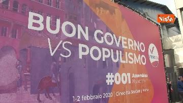 1 - Renzi chiude l'assemblea di Italia Viva