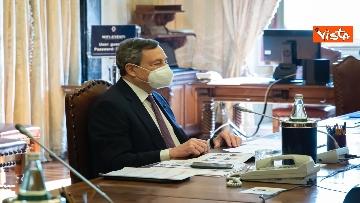 1 - Consultazioni, Draghi incontra i rappresentanti di Italia viva