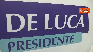 2 - De Luca rieletto presidente della Campania, le foto dal comitato elettorale