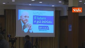 3 - De Luca rieletto presidente della Campania, le foto dal comitato elettorale