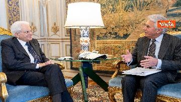 2 - Mattarella incontra una delegazione dell'Autorità di delegazione dei trasporti