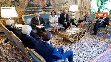 4 - Mattarella incontra una delegazione dell'Autorità di delegazione dei trasporti