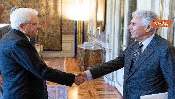 3 - Mattarella incontra una delegazione dell'Autorità di delegazione dei trasporti