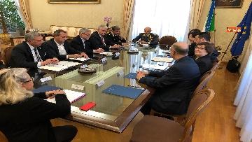 4 - Salvini al Comitato per l'ordine e la sicurezza su sgombero campo rom a Giugliano