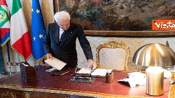 2 - Il Presidente della Repubblica Mattarella si prepara per le Consultazioni