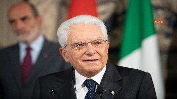 5 - La dichiarazione di Mattarella al termine delle Consultazioni