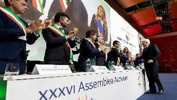 3 - Mattarella all'Assemblea Anci ad Arezzo