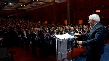 2 - Mattarella all'Assemblea Anci ad Arezzo