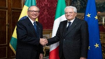 4 - Mattarella incontra i nuovi ambasciatori per la consegna delle lettere di credenziali