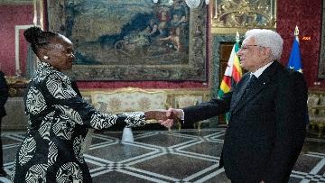 7 - Mattarella incontra i nuovi ambasciatori per la consegna delle lettere di credenziali