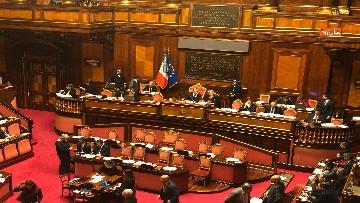 4 - Il Senato riunito per il voto sul dl sicurezza