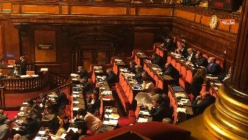 6 - Il Senato riunito per il voto sul dl sicurezza