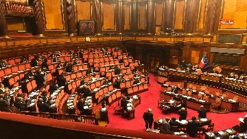 8 - Il Senato riunito per il voto sul dl sicurezza