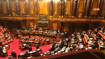 7 - Il Senato riunito per il voto sul dl sicurezza