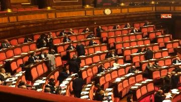 3 - Il Senato riunito per il voto sul dl sicurezza