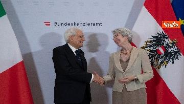 8 - Mattarella in visita di Stato in Austria
