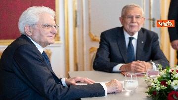 2 - Mattarella in visita di Stato in Austria